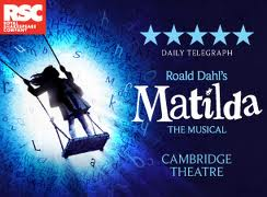 London cast Matilda lyrics songs